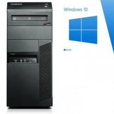 PC Refurbished ThinkCentre M91p, Quad Core i5-2400, Win 10 Home - Sisteme desktop fara monitor Ibm