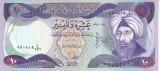 Bancnota Irak 10 Dinari 1980 - P71 UNC
