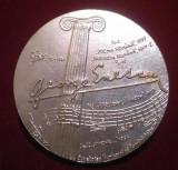 GEORGE ENESCU - Oedip - Poema Romana - Rapsodia Romana  Medalie omagiala Rara