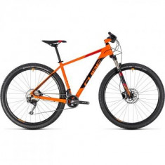 BICICLETA CUBE ACID Orange Black 2018 - Mountain Bike