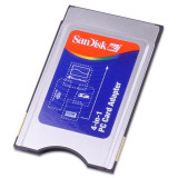 adaptor SanDisk 4-in-1 Memory Stick, SD Memory Card, SmartMedia PC Card Adapter