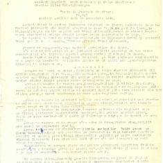 Z105 DOCUMENT VECHI-CARTE DE JUDECATA DE DIVORT- 1949-FLOAREA SI CAROL DICENSCHI - Hartie cu Antet