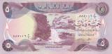 Bancnota Irak 5 Dinari 1980 - P70 UNC