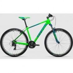 BICICLETA CUBE AIM 27.5 Green Blue 2017 - Mountain Bike