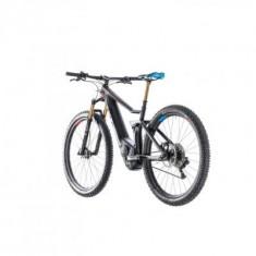 BICICLETA CUBE STEREO HYBRID 120 HPC SLT 500 Zeroblack 2018 - Mountain Bike