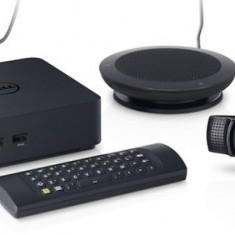 Dell ChromeBox, Intel Core i7 4600u 2.1 Ghz, 4 GB DDR3, 16 GB SSD, Wi-Fi, Bluetooth, WebCam Logitech Full HD, Jabra Speak 410, Mini Wireless Keyboar - Sisteme desktop fara monitor