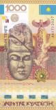 Bancnota Kazahstan 1.000 Tenge (2013) - P44 UNC ( bancnota anului 2013 )