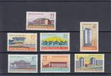 ROMANIA 1961  LP 531  ARHITECTURA ROMANEASCA  MODERNA  SERIE MNH, Nestampilat