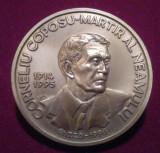 CORNELIU COPOSU - Martir al neamului - placheta comemorativa Medalie Romania