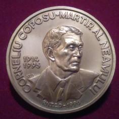 CORNELIU COPOSU - Martir al neamului - placheta comemorativa Medalie Romania - Medalii Romania