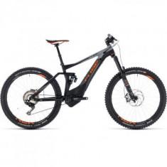 BICICLETA CUBE STEREO HYBRID 140 TM 500 27.5 Black Orange 2018 - Mountain Bike