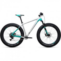 BICICLETA CUBE NUTRAIL PRO Raw Mint 2018 - Mountain Bike
