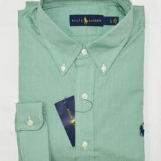 Camasa Ralph Lauren colectia noua L - Camasa barbati Ralph Lauren, Marime: L, Culoare: Verde, Maneca lunga