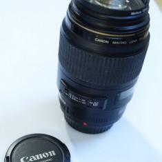 Obiectiv Canon EF 100mm f2.8 Macro USM - Obiectiv DSLR