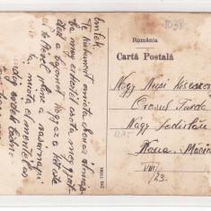 GARA DARSTE SACELE, ROMANIA.2 SCAN. - Carte Postala Transilvania 1904-1918, Circulata, Fotografie
