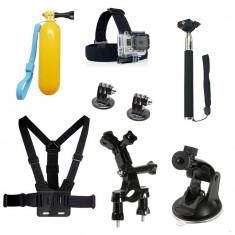 Kit 8 in 1 accesorii pentru camere sport - Accesoriu Curatare Aparate Foto