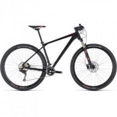 BICICLETA CUBE REACTION PRO Black Red 2018 - Mountain Bike