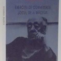 TEATRUL IX, EXERCITII DE CONVERSATIE, JOCUL DE-A MACELUL de EUGENE IONESCO, 2008 - Carte Teatru