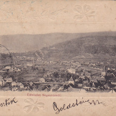 SIGHISOARA, SEGESVARROL, CIRCULATA 1904, ROMANIA. - Carte Postala Transilvania pana la 1904, Fotografie