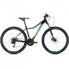 BICICLETA CUBE ACCESS WS EAZ Black Mint 2018 - Mountain Bike