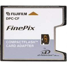 Adaptor fine pix Fuji DPC-CF Compact Flash Card Adapter for xD-Picture Card - Card memorie foto