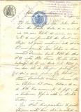 Z80 DOCUMENT VECHI-ACTU DE VANDARE(VANZARE)ANUL 1887-TOMA CHRISTEA -BRAILA