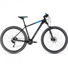 BICICLETA CUBE ATTENTION Black Blue 2018 - Mountain Bike