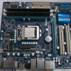 Kit Gigabyte GA H55M-D2H + Intel Core i3 530 + 4gb ddr3 + cooler stock - Placa de Baza Gigabyte, Pentru INTEL, Socket: 1156, Contine procesor, MicroATX