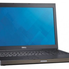 Laptop Dell Precision M6800, Intel Core i7 Gen 4 4800QM 2.7 GHz, 16 GB DDR3, 250 GB SSD NOU, DVDRW, nVidia Quadro K3100M, WI-Fi, Bluetooth, Card Rea
