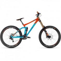 BICICLETA CUBE TWO15 SL 27.5 Blue Orange 2018 - Mountain Bike