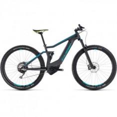 BICICLETA CUBE STEREO HYBRID 120 HPC RACE 500 Iridium Blue 2018 - Mountain Bike