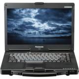 Laptop Panasonic Toughbook CF-53, Intel Core i5 Gen 2 2520M 2.5 GHz, 4 GB DDR3, 320 GB HDD SATA, DVD-ROM, Wi-Fi, Bluetooth, Card Reader, Display 14i