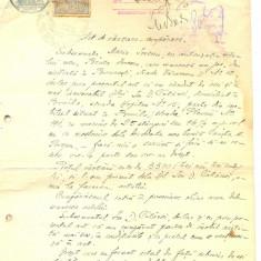 Z84 DOCUMENT VECHI-ACT DE VANZARE-CUMPARARE ANUL 1921- MARIA IONESCU-ION CATANOI - Hartie cu Antet