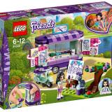 LEGO Friends - Standul de arta al Emmei 41332