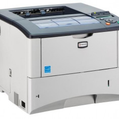 Imprimanta LaserJet Monocrom, A4, Kyocera FS-2020D, 35 pagini/minut, 20.000 pagini lunar, 1200 x 1200 DPI, Duplex, USB, 2 Ani Garantie - Imprimanta laser alb negru