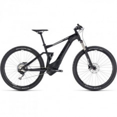 BICICLETA CUBE STEREO HYBRID 120 PRO 500 Black White 2018