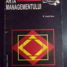Arta Managementului - W.david Rees, 541076 - Carte de vanzari