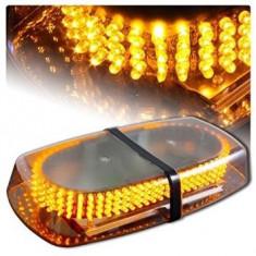 Bara Rampa girofare cu LED-uri 12v/24v lumina portocalie COD: ART101A