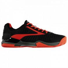 Dunlop Flash Clay adidasi talpa pentru zgura pantofi tenis 42.5 us 9.5 us 8.5 - Tenisi barbati Dunlop, Culoare: Negru