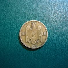 20 LEI 1930 LONDRA - Moneda Romania