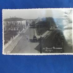 BAZARGIC - PARCUL PRIMARIEI - 1939 - Carte Postala Dobrogea dupa 1918, Circulata, Fotografie