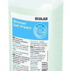 Dezinfectant maini Ecolab Skinman Soft Protect 500ml - Solutie antidaunatori