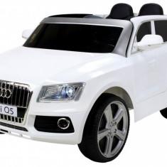 Masinuta electrica Audi Q5 alb cu portiere