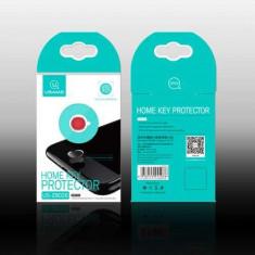 Sticker Home Buton iPhone 7 Plus / 7 / 6S Plus / 6S / 6 Plus / 6 / SE / 5S Gri - Sticker Telefon