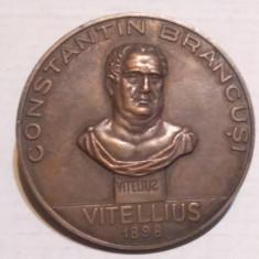 Constantin BRANCUSI - VITELLIUS - Medalie Romania, 1987 - Medalii Romania