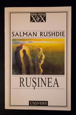 Salman Rushdie - Rușinea foto