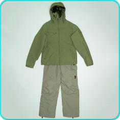 Costum ski/iarna, dama, geaca + pantaloni—salopeta, BURTON → femei | marimea 38 - Echipament ski