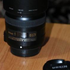 Obiectiv Nikon 40mm f/2.8G - Obiectiv DSLR Nikkor
