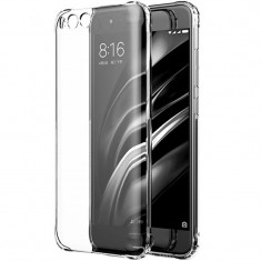Husa silicon strong pentru Xiaomi Mi6, Transparent - Husa Telefon