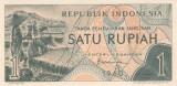 Bancnota Indonezia 1 Rupie 1960 - P76 UNC